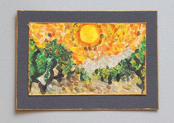 Spróbuj malować jak mistrz - śladami Vincenta van Gogha