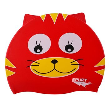 Spurt, Czepek silikonowy, Red Cat - Spurt