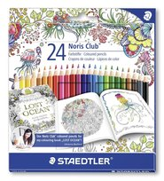 Staedtler, kredki ołówkowe, Noris Club, 24 kolory