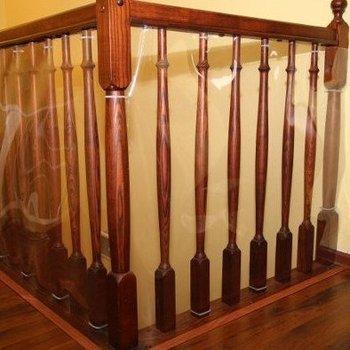 Stamal, Zabezpieczenie do balustrady/Folia PVC, 90x250 cm -STAMAL