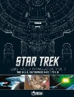 Star Trek the Next Generation: The U.S.S. Enterprise Ncc-1701-D Illustrated Handbook - Robinson Ben, Riley Marcus