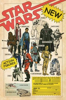 Star Wars Action Figures - plakat 61x91,5 cm-Pyramid Posters