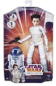 Star Wars, figurka Leia Organa & droid R2-D2-Hasbro