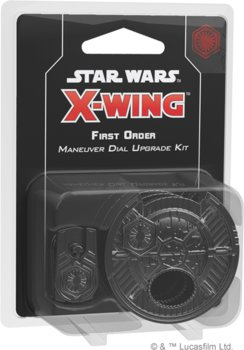 Star Wars, gra strategiczna X-Wing - First Order Maneuver Dial Upgrade Kit (druga edycja) - Star Wars