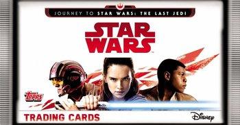 Star Wars Journey to the Last Jedi Saszetki z Kartami