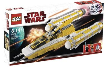 Star Wars, klocki, 8037 Anakin y-wing starfighter myśliwiec r2-d2-Star Wars