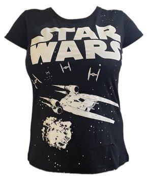 STAR WARS T-SHIRT GWIEZDNE WOJNY KOSZYLKA DAMSKA-Star Wars