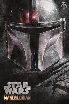 Star Wars The Mandalorian Helmet - plakat 61x91,5 cm-Grupoerik