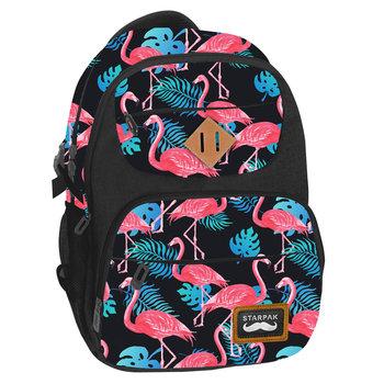 Starpak, plecak szkolny, Flamingi-Starpak