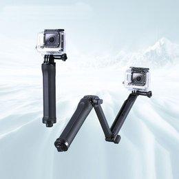 Statyw Monopod łamany do kamerki sportowej GoPro 3-Way - czarny