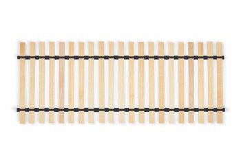 Stelaż do łóżka TABULA czarny, 80x200, drewno brzozowe/bukowe -Konsimo