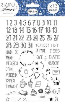 Stempelki w arkuszu, Liczby i notatki-Aladine