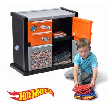 Step2,  Hot Wheels, Race Car Dresser, Szafka na ubrania - Step2