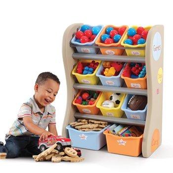 Step2, Organizer na zabawki, Pastelowy-Step2