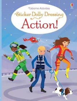 Sticker Dolly Dressing Action!-Watt Fiona