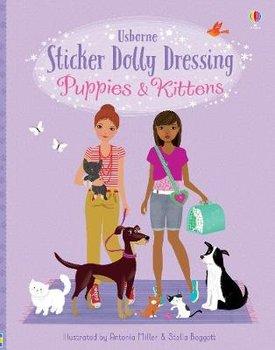 Sticker Dolly Dressing Puppies and Kittens-Watt Fiona