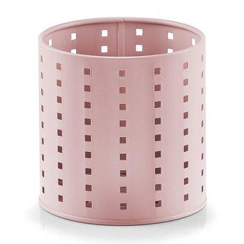Stojak na sztućce ZELLER, różowy, 13 cm-Zeller