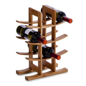 Stojak na wino ZELLER, 12 butelek, 29x16x42 cm-Zeller