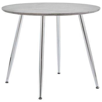 Stół do jadalni VIDAXL, szary, 90x73,5 cm-vidaXL
