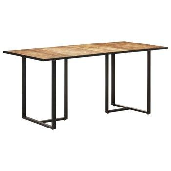 Stół jadalniany, 160 cm, surowe drewno mango-vidaXL