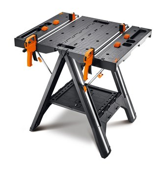 Stół roboczy WORX WX051 + ściski + złączki-WORX