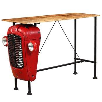 Stolik barowy VIDAXL traktor, drewno mango, 150x60x107cm-vidaXL