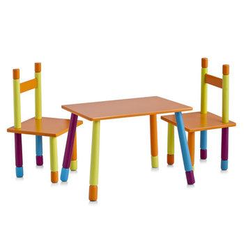 Stolik dziecięcy + 2 krzesełka ZELLER Color-Zeller