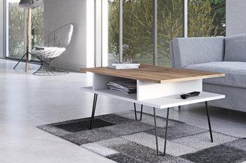 Stolik kawowy 4 HOUSE DESIGN Toscana, biały-wotan, 90x48x59,5 cm-4 House Design