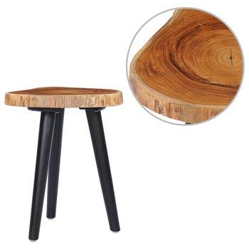 Stolik kawowy, 40x45 cm, lite drewno tekowe-vidaXL