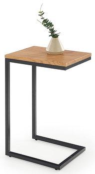 Stolik kawowy ELIOR Ostin, brązowy, 30x40x60 cm-Elior