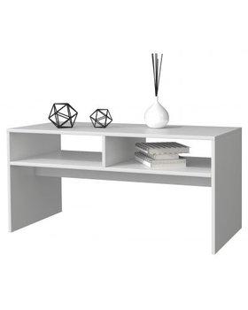 Stolik kawowy TOPESHOP Mesa, biały mat, 41x90x51 cm-Topeshop