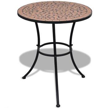 Stolik ogrodowy VIDAXL, brązowy, 60x70 cm-vidaXL
