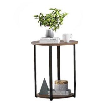 Stolik stół kawowy okrągły szafka nocna LOFT ModernHome-Modernhome