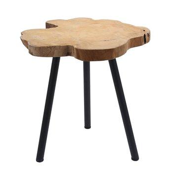 Stolik z drewna tekowego-MIA home
