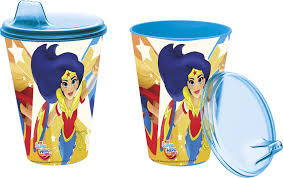 Stor, Super Hero Girls, Kubek niekapek, 430 ml-Stor