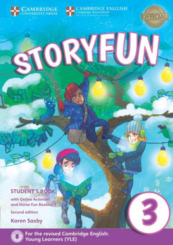 Storyfun for Movers Level 3 Student's Book with Online Activities and Home Fun Booklet 3-Saxby Karen
