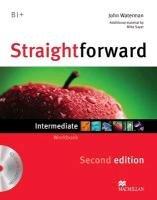 Straightforward (2nd Edition) Intermediate Workbook without Answer Key with CD-Kerr Philip, Norris Roy, Clandfield Lindsay, Jones Ceri, Scrivener Jim