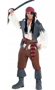 Strój dla dorosłych, Kapitan pirat, rozmiar M/L-Amscan