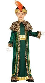 Strój dla dzieci, Mały Król, zielony, rozmiar 104-Guirca