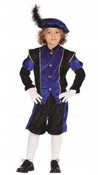 Strój dla dzieci, paź, niebieski, rozmiar 104-Guirca