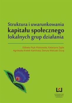 Struktura i uwarunkowania kapitału społecznego lokalnych grup działania                      (ebook)