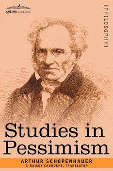 Studies in Pessimism-Schopenhauer Arthur