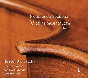Subissati: Violin Sonatas-Ciccolini Alessandro