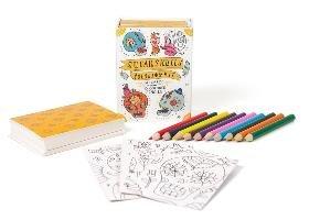 Sugar Skulls Coloring Kit-Running Press
