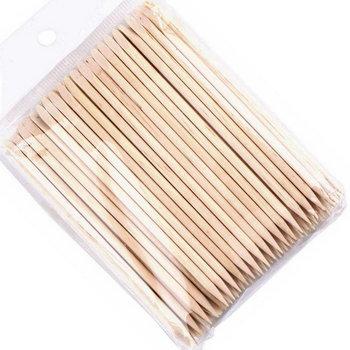 SUNONE drewniane patyczki do manicure i pedicure 100 sztuk-Sunone