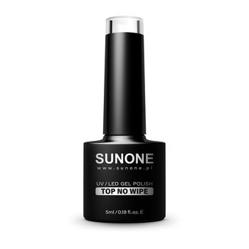 Sunone, UV/LED Gel Polish Top No Wipe top hybrydowy do paznokci 5ml - Sunone