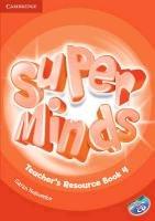 Super Minds Level 4 Teacher's Resource Book with Audio CD-Holcombe Garan