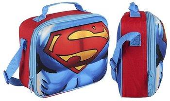 SUPERMAN ŚNIADANIÓWKA TORBA TERMICZNA LUNCH BOX 3D-Superman