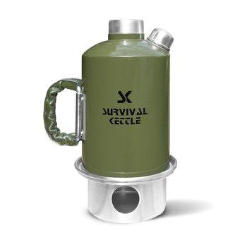 Survival Kettle, Czajnik turystyczny, zielony, 1.2L-Survival Kettle