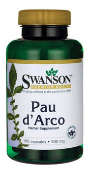 Swanson, Suplement diety, Pau d'arco 500 mg, 100 kapsułek-Swanson